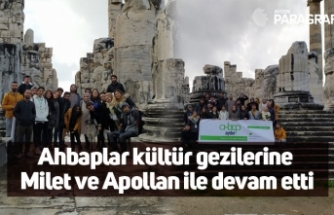Ahbaplar kültür gezilerine Milet ve Apollan ile devam etti