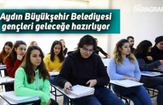 Aydın Büyükşehir Belediyesi gençleri geleceğe hazırlıyor