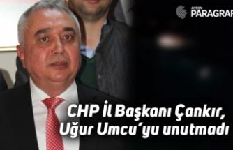 CHP İl Başkanı Çankır, Uğur Umcu'yu unutmadı