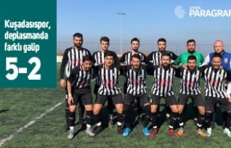 Kuşadasıspor, Koçarlı Menderes'e deplasmanda gol yağdırdı: 5-2