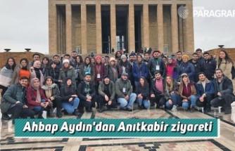 Ahbap Aydın'dan Anıtkabir ziyareti