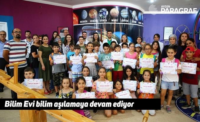 Büyükşehir'in Bilim Evi çocuklara bilim aşılamaya devam ediyor