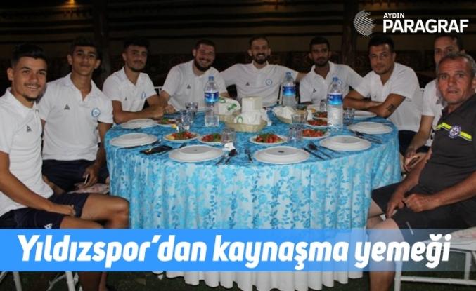 Yıldızspor'dan kaynaşma yemeği