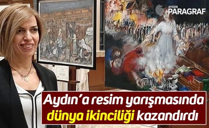 Aydın'a resim yarışmasında dünya ikinciliği kazandırdı