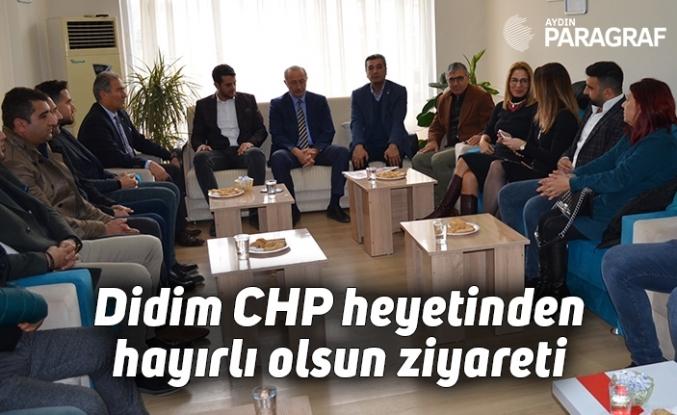 Didim CHP heyetinden hayırlı olsun ziyareti