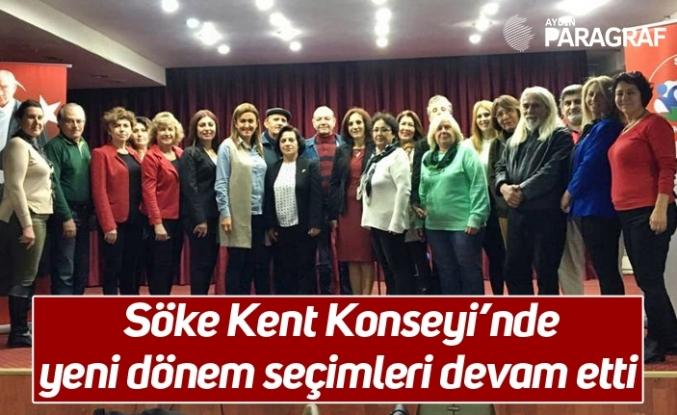 Söke Kent Konseyi'nde yeni dönem seçimleri devam etti
