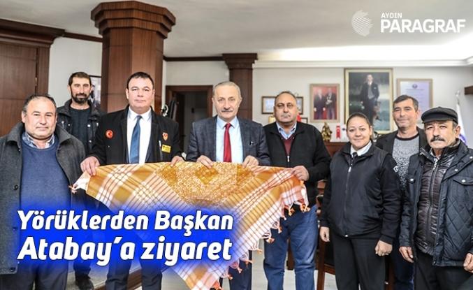 Yörüklerden Başkan Atabay'a ziyaret