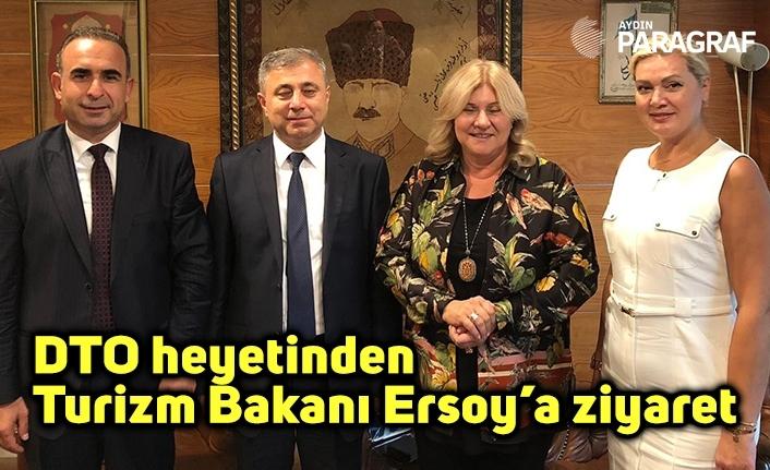 DTO heyetinden Turizm Bakanı Ersoy'a ziyaret