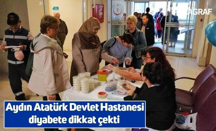 Aydın Atatürk Devlet Hastanesi diyabete dikkat çekti